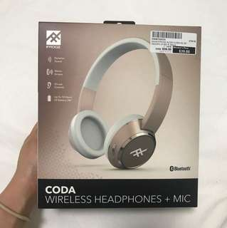 Wireless Bluetooth Headphones (Rose Gold)