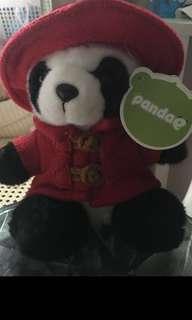 A souvenir panda from Shanghai