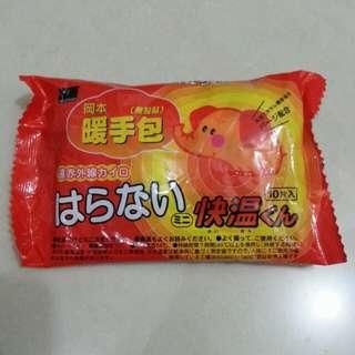 日本岡本無黏貼暖手包