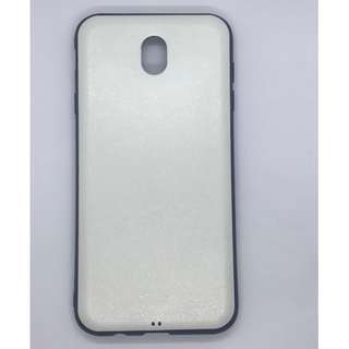 shinny white case for samsung J7 PRO