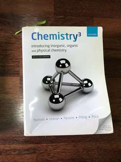 Chemistry³: Introducing Inorganic, Organic, and Physical Chemistry
