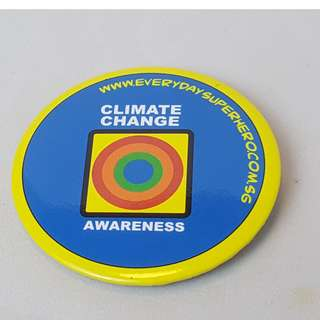 Climate Change Awareness Everyday Superhero