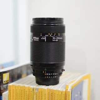 70-210mm 1:4-5.6 Nikon AF Nikkor