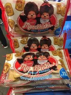 Monchhichi 日本限定版忌廉餅乾 日本直送