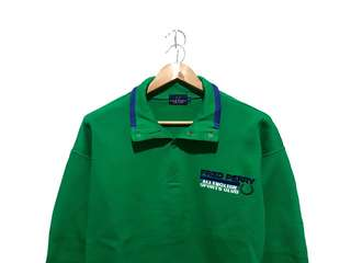 Halfzip Fred Perry Green