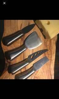 A set of German made cheese knief