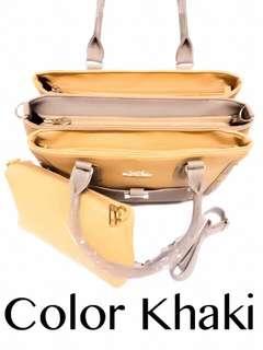 New fashionbag 3 compartments