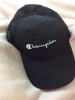Black Champion cap