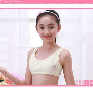 Girls' inner wear-( Design : Sport baby) Suitable for age 12 to 15 years old, 2 pcs for SGD 10.00
