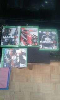 Xbox one avec jeux