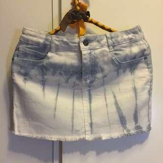 DKNY 牛仔裙