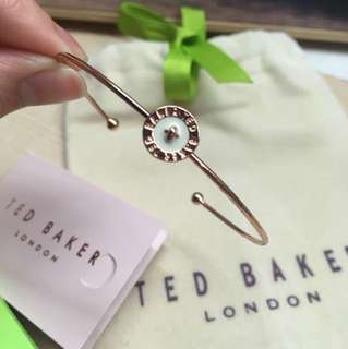 New Ted Baker enamel button bangle
