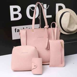 4 in 1 PINK Bag