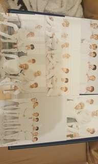 BTS 防彈少年團咭紙