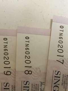 $2 dollar note - 2018 , 2017 , 2019