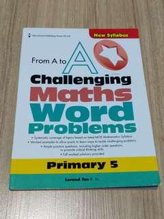 P5 math assessment book
