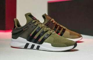 ADIDAS EQT support ADV Cargo Green premium original sepatu