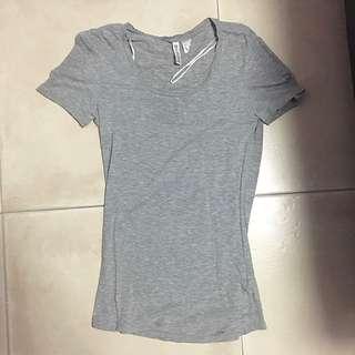 🚚 SALES - T shirt U (dark grey) #Caroupay
