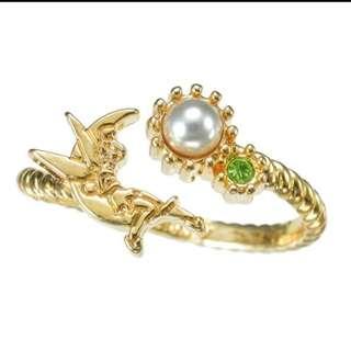 🚚 東京迪士尼購入 小仙子珍珠戒指