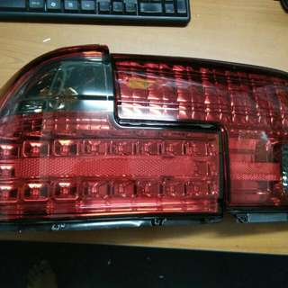 Wira Tail Lamp Led Smoke And Red Color