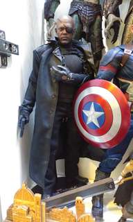 Hottoys Nick Fury captain america winter soldier hot toys