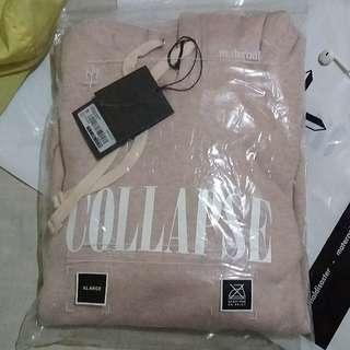 Collapse X Maternal Disaster - November Boys Pink Sweatshirt