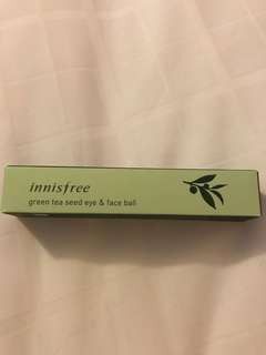 🇰🇷Innisfree green tea seed eye& face ball 10ml