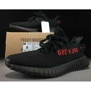 Adidas Yeezy Boost 350 V2 Black/Red Real Boost
