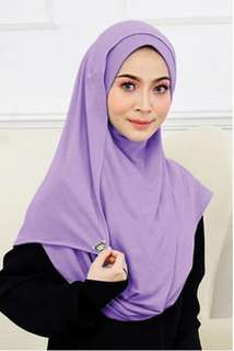 SYIFAA HIJAB GO - DUSTY PURPLE
