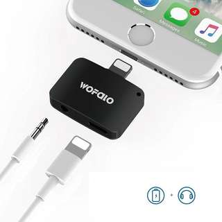 Adapter, Lightning to Aux Audio Cable Splitter