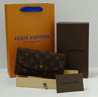 Louis Vuitton Emilie Wallet Monogram