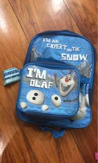 FROZEN brand new backpack with detachable lunch box