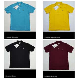 Lacoste Classic Polo Shirt Mens
