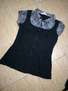 Charlotte Russe Collared Blouse