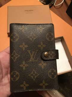 Authentic Louis Vuitton Monogram Agenda PM