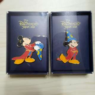 2018 D23 Expo pin 迪士尼 Disney pin