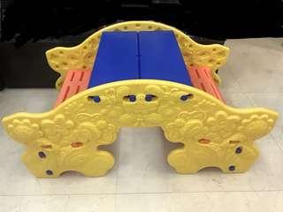桌椅+搖搖船 2合1