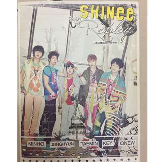 SHINee 1st Japanese Album - SHINee Replay Everything