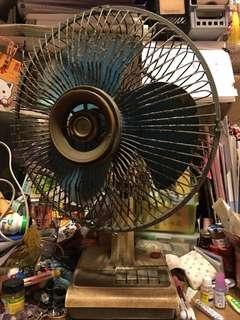古董14吋風扇