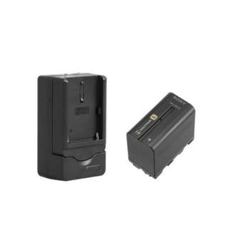 NP-F960/F970 Battery Charger + NP-F960/F970 Battery
