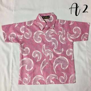 (A2)- Boy's Batik Shirt
