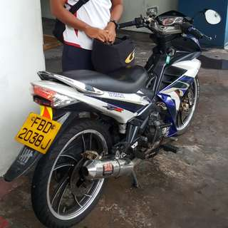 Motorcycle for Rent / lease Singapore
