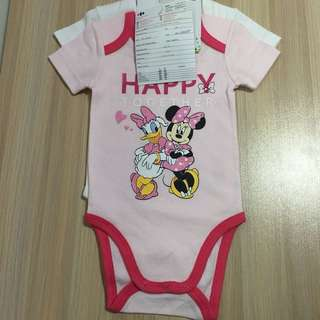 Disney baby bodysuit 2pcs 迪士尼BB連身衣