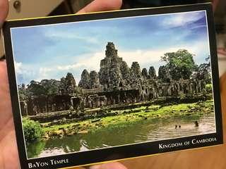 柬埔寨名信片