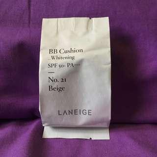 Leneige BB Cushion Whitening spf 50+ PA+++ [REFILL] No.21 Beige