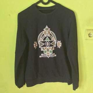 sweater executive hitam panjang