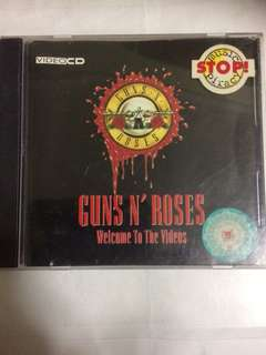 VCD 29 Videos of Guns & Roses Use your illusion album