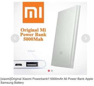 Xiaomi Powerbank 5000mAh