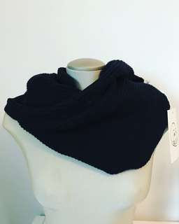 NEW Cheap Monday Soft Black Scarf