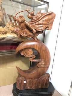 木雕 藝術 雕刻 藝品 擺飾 收藏